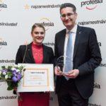 Najzamestnávateľ 2017 víťaz v kategórii Centrá zdieľaných služieb