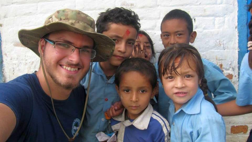 work camp, Nepal, Peter Molnár, škola, žiaci