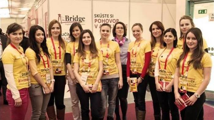 Petra Nováková, dobrovoľníctvo, Profesia days
