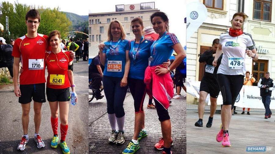 Ivana Molnárová, beh, maratón, štafeta