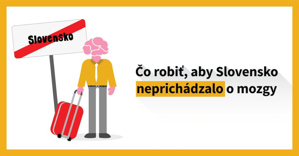 Manažéri odpovedajú: Čo robiť, aby Slovensko neprichádzalo o mozgy