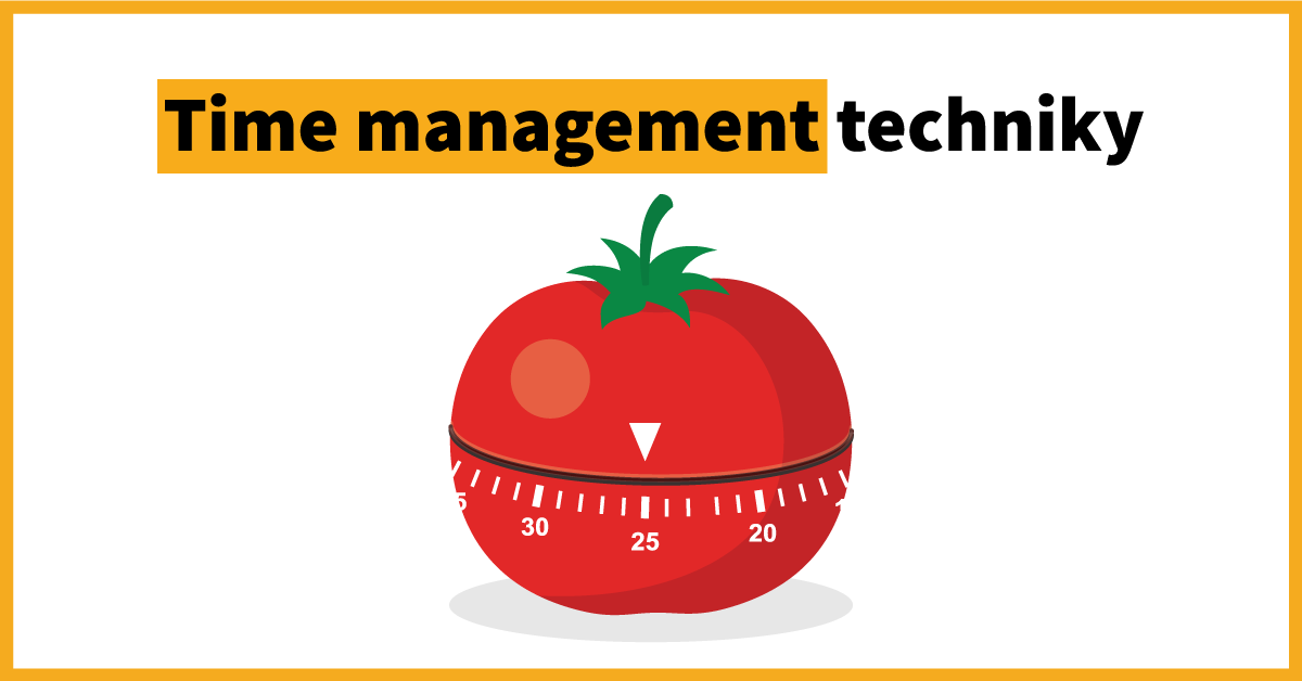 time management techniky