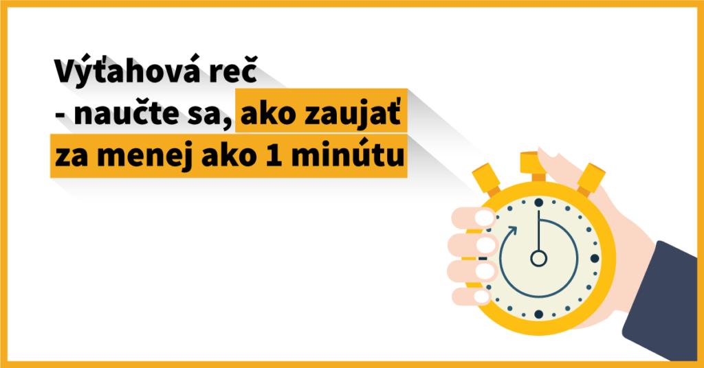 Výťahová reč – naučte sa, ako zaujať za menej ako jednu minútu