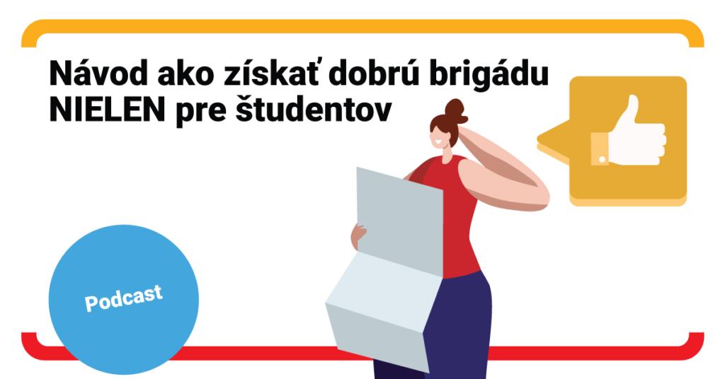 Návod ako získať dobrú brigádu nielen pre študentov (podcast)