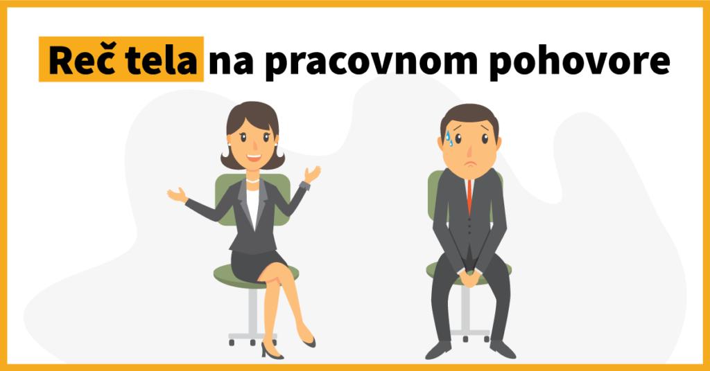 Čo o vás prezradí reč tela na pracovnom pohovore?
