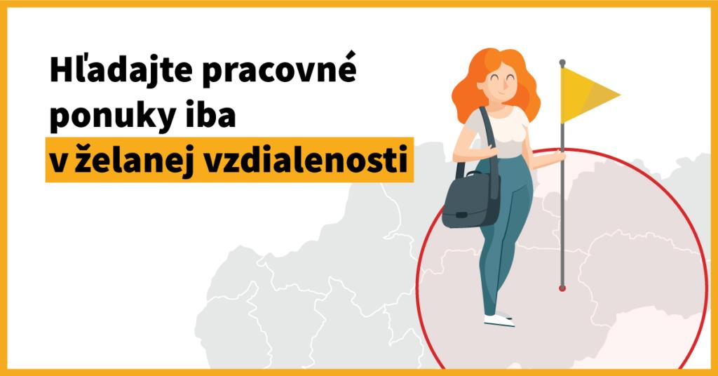 Zmeny vo vyhľadávaní na Profesia.sk. Hľadajte prácu vo svojom okolí