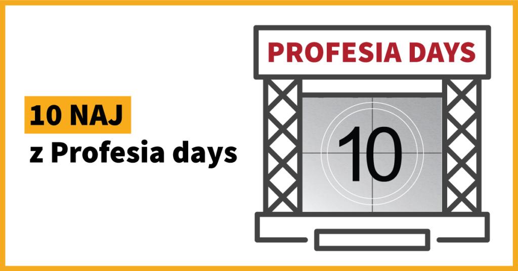 10 NAJ za 10 rokov Profesia days
